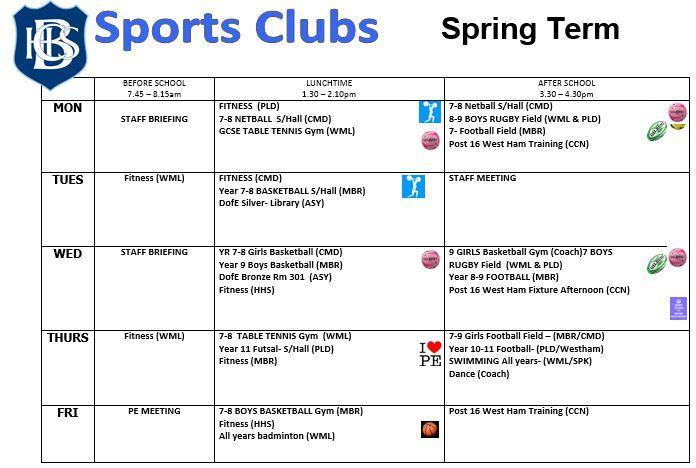 Sport club april 2020