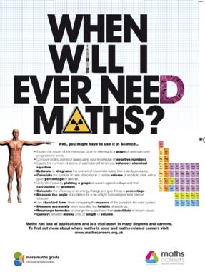 Maths career