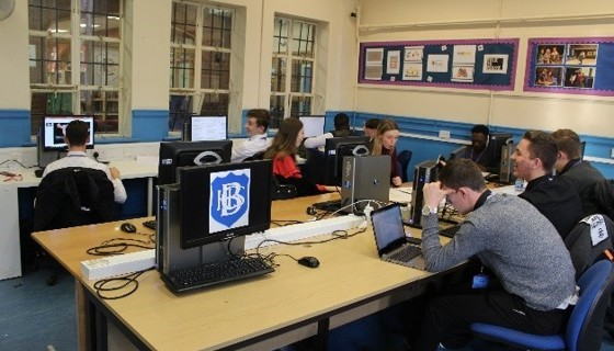 Sixth form comp room