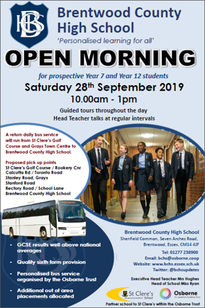 Open morning for website
